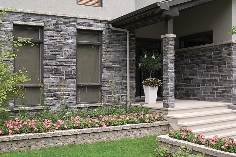 Accueil depot bloc laval briques et pierres - Pierre decorative exterieure jardin ...